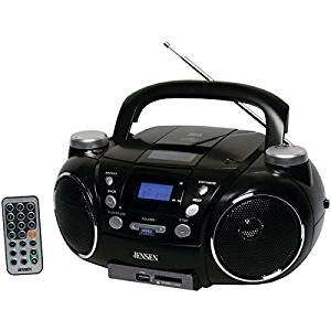 JENSEN Portable AM/FM Stereo CD Player with MP3 Encoder/Player CD750 CD-750 7728
