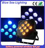Newest 9x 10w led par light battery powered rgbwa uv light