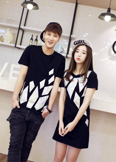Schattige Koreaanse Paar Shirts Promotie-Winkel voor ...