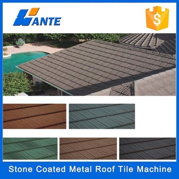 Aluminium zinc steel stone coated roofing tile building for 3999 roof