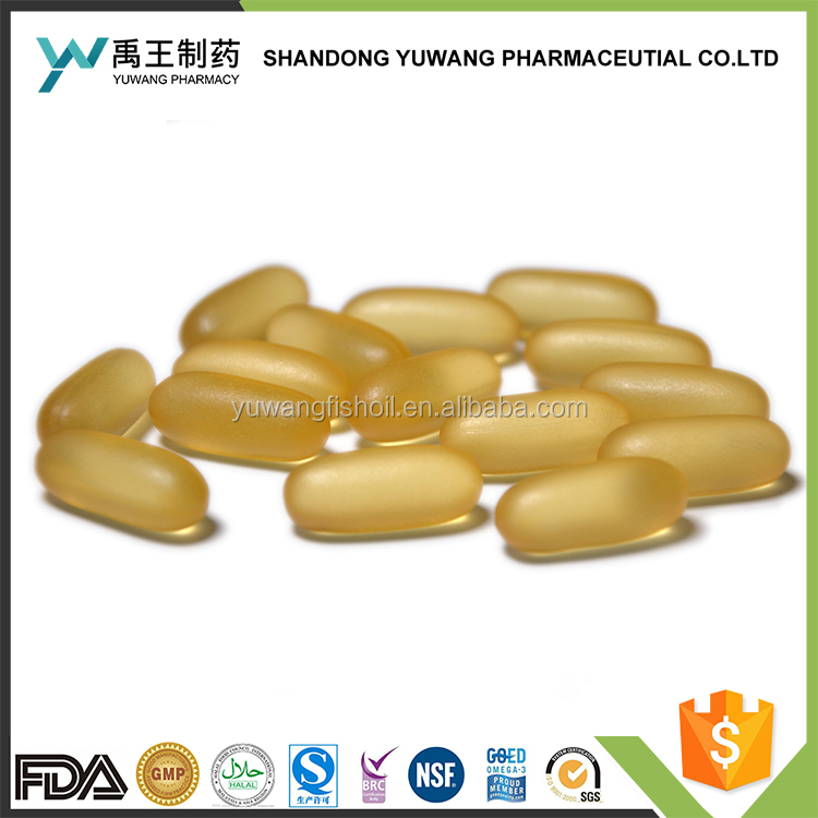 High quality pure anchovy fish oil omega 3 EPA/DHA soft capsule