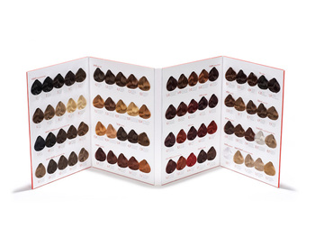 oem professional hair dye color book - Hair Color Book