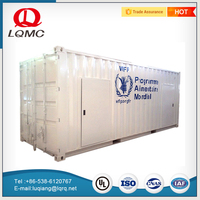 High configuration low price Luqiang mini gas station