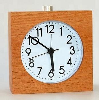 Hand Made Wooden Silent Digital Bedroom Nightlight Table Alarm Clock Buy Modern Digital Alarm Clock Kids Digital Alarm Clocks Rugby Alarm Clock