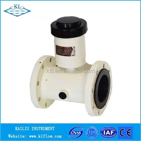 HART digital interface and GPRS wireless remote transmission electromagnetic flow meter