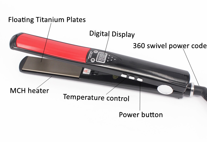 Private Label Flat Irons Personalized Professional Mch 100