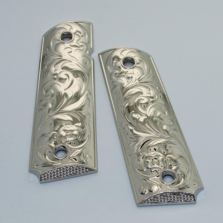 Buy Colt 1911 Gun Grips Custom Engrave Real Water Buffalo Bone #Da1