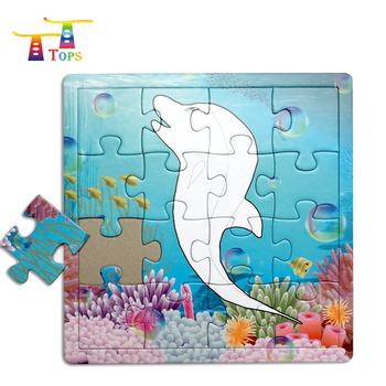 18mm Customized Printing Germany Kids Toy; Children Game 96pcs Cheap Price High Quality Vietnam Lithuania Lesotho Jigsaw Puzzle