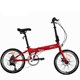 New type 16 inch Aluminum frame portable cheap price folding bike for Children or adult/ Pocket folding bicycle