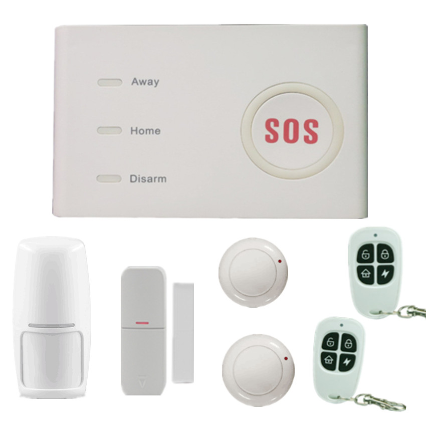 Cheap DP-X10 Doorbell SOS emergency GSM wifi 3g wireless home business security alarm system