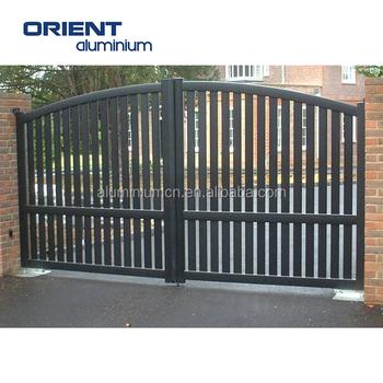 House Aluminium Gate Design Steel Sliding Gate Aluminum Fence