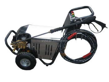 electric drain high pressure cleaner,Electric plant industrial pipe cleaning machine, high pressure cleaning machine