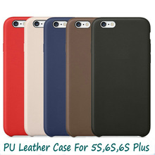 Original Phone Accessories Back Cover For iPhone 6 Leather Case