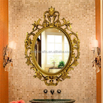 China wholesale hotselling wall mirror vintage home decor for Cheap antique style mirrors