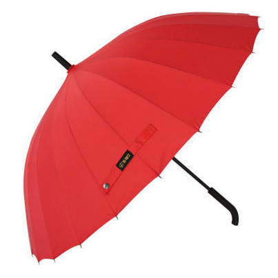 2018 New Ideas Auto Open and Close 3 Folding Umbrella with Torch