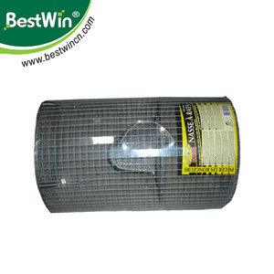 BSTW metal wire mesh mouse cage live catch rat trap