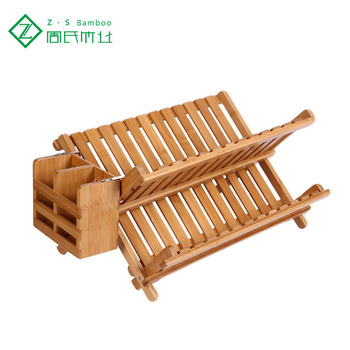 Bamboo Dish Drying Rack.Good Quality Bamboo Dish Drainer Rack Folding Dish Drying Rack With Utensils Holder Buy Dish Drying Rack Folding Dish Drying Rack Bamboo Folding
