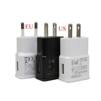 wholesale price 5V 2A US EU plug usb phone wall travel charger adapter For samsung galaxy note2 n7100 S4 i9500 all phone