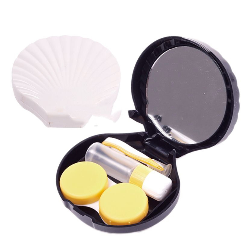 MiniSale Fashionable! Mini Travel Kits Case Pocket Storage Holder Container Shell for Contact Lens Underspend!