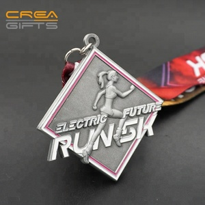 Special Design High Quality Custom 3d Half Marathon Finisher Medal And Trophies Made In China