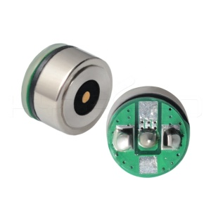 Round DC power spring connector 2pin magnetic connector with pcb assembly
