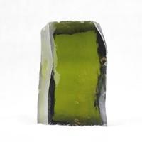olive color factory price rough uncut gemstones