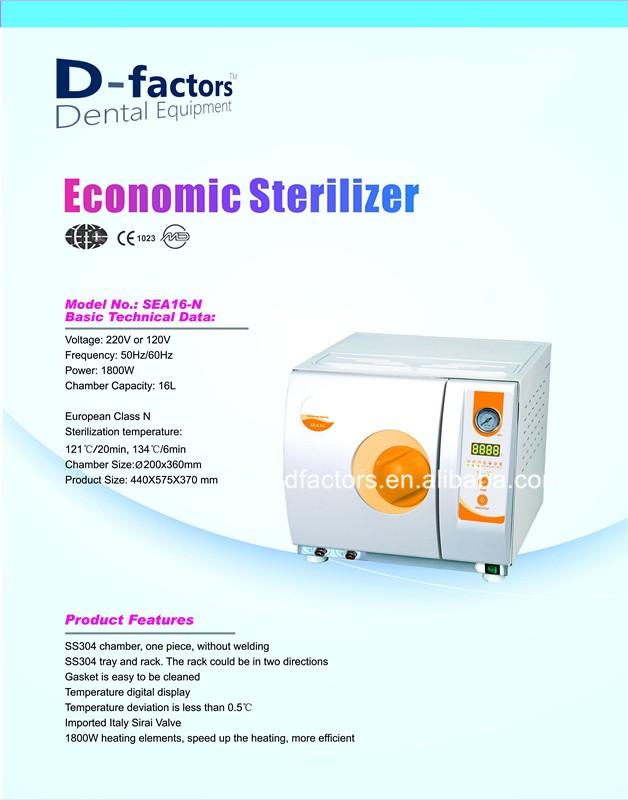 Ranyes Dental autoclave steam sterilizer dental equipment 2017 newest  product manufacturer, View Dental autoclave, D-factors Product Details from