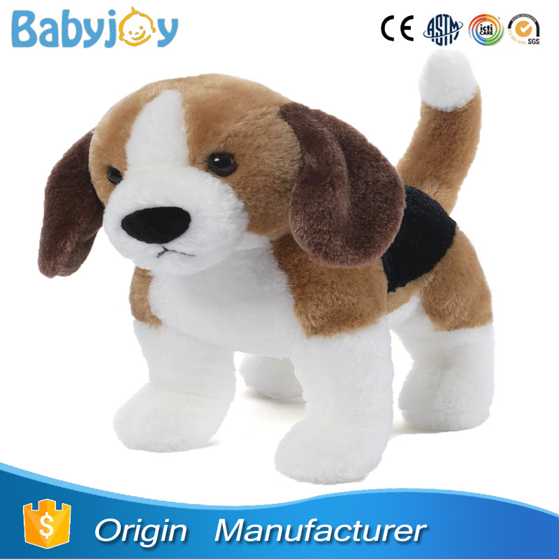 stuffed beagle dog toy, plush beagle soft toy