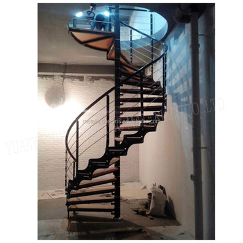 China Factory Supplier Cast Iron Spiral Stair Used Spiral Staircases