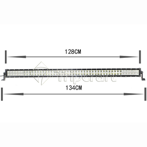 "288W 50"" straight led off road light bar 12V 24V DC LED driving light with CE RoHS IP67"