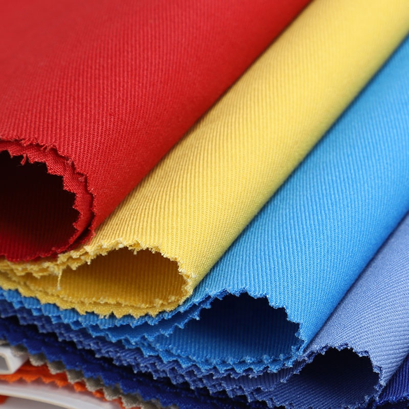 Durable Good Shrinkage 350gsm Fire Resistant Flame Retardant Cotton Satin  Fabric For Protective Clothing - Buy Fire Retardant Fabric,Satin Fire