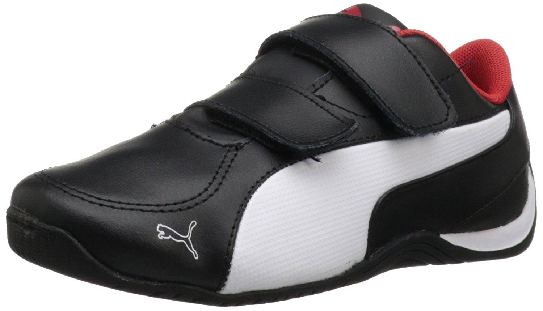 Get Quotations · PUMA Drift Cat 5 V Leather Sneaker (Toddler Little Kid) eb0e25096