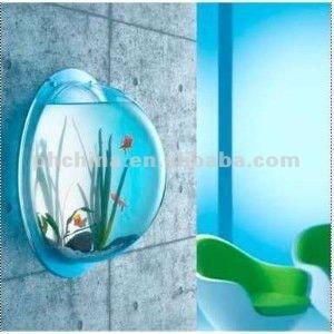 Aat-314 Wall-mounted Acrylic Fish Aquarium,Betta Wall Mount Fish ...