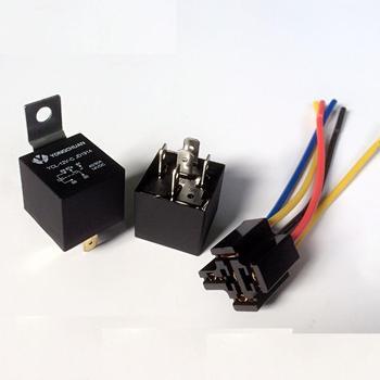 Phenomenal 12V Car Spdt Automotive Relay Dc 5 Pin 5 Wires W Harness Socket 40 Wiring 101 Ferenstreekradiomeanderfmnl