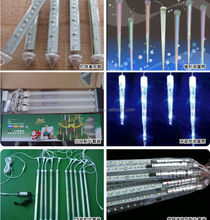 50 CM double-sided LED Meteor light decoration christmas light LED Snow fall tube led rain tube lantern led meteor