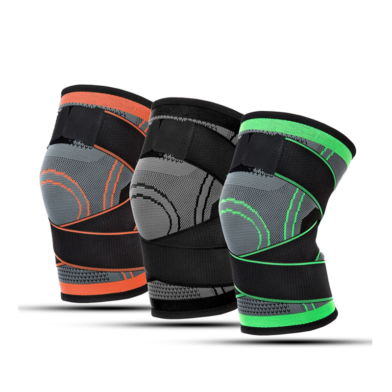 Best Selling Black Open adjustable Knee Patellar Tendon Strap/ knee support/ knee brace/ wrap for orthopedic, Customized color