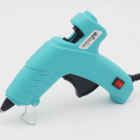 20W Hot Melt Glue Gun with Switch 110V-240V Crafts Repair Tool+2pcs Glue Sticks