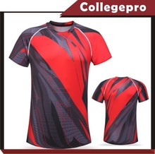OEM sports wear fashion sublimation 100% polyester running t shirt wholesale