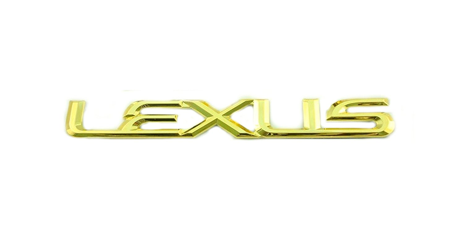 FOR 2004 LEXUS  LS430 24K GOLD PLATED FRONT EMBLEM LOGO NEW