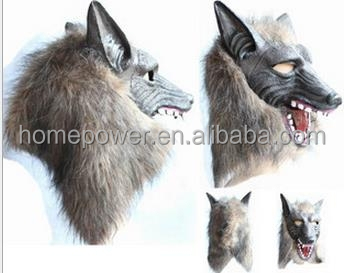 Latex Masks High quality Novelty Rubber Terror wolf Mask