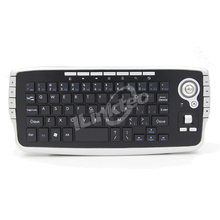 2.4ghz compact wireless keyboard with mouse wheel trackball