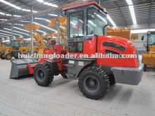 hzm 4wd Mini multifungsi wheel loader zl12 dengan salju plower , garpu palet