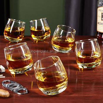 Roly Poly À Bascule Personnalisé Verre à Whisky
