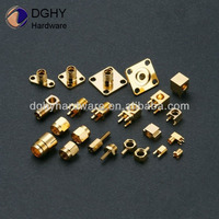 Custom made high precision brass turned parts brass bed replacement parts