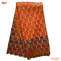 Orange Africa Chemical Lace Water Soluble African Lace SR001
