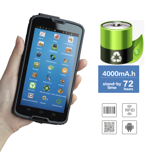Hot Cilico Android C5 Pda With1d 2d Barcode Scanner,Cradle Charger ...