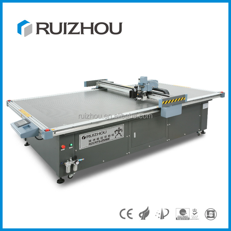 Easy operation CNC knifes cutting machine for footwear industry