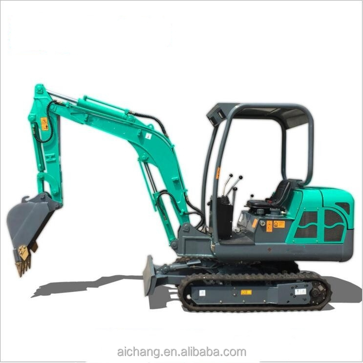 Cheap mini excavator with bucket hydraulic crawler type