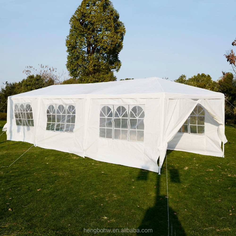 3x9m Party Tent Marquee Tent Outdoor White Wedding Tent