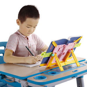 Simply adjustable book reading stand for children